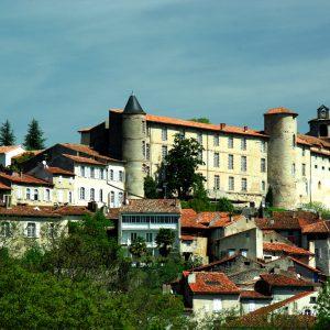 le palais des évêques de saint liziers